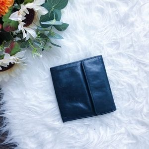 VINTAGE BIFOLD LEATHER WALLET